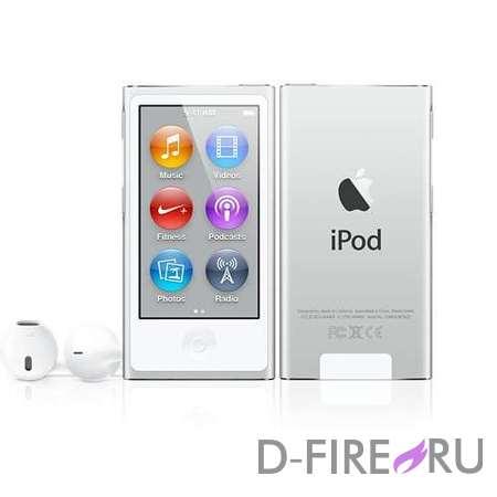 Плеер Apple iPod nano 16GB Silver