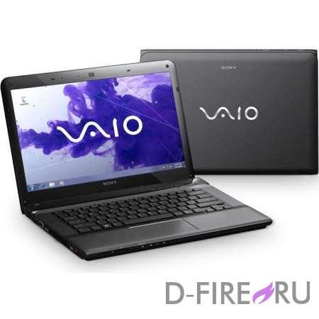 Ноутбук Sony VAIO® SVE1411E1R Black