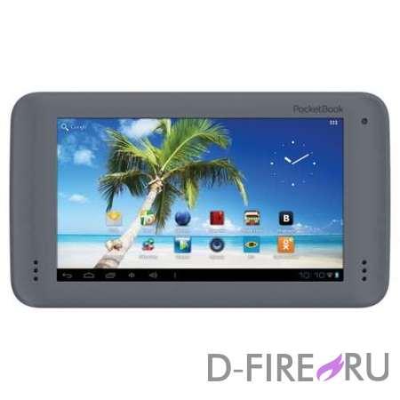 Электронная книга PocketBook U7 SURFpad, цвет черно-серый