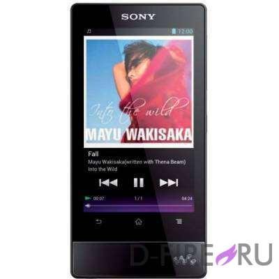 Плеер Sony NWZ-F804B