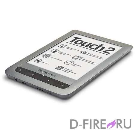 Электронная книга PocketBook Touch 2, серебристый