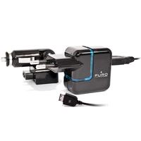 Автомобильное зарядное устройство PURO Travel Power+ Car Charger (авто-адаптер, USB порт SAMSUNG, черное)