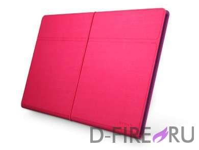 Чехол Sony для Xperia Tablet S, цвет розовый