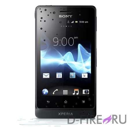 Смартфон Sony Xperia Go (ST27i) черный