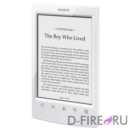 Электронная книга Sony PRS-T2 белая