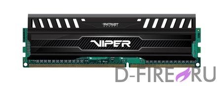Модули памяти для ПК Patriot 8Gb DDR3 PC12800 1600MHz