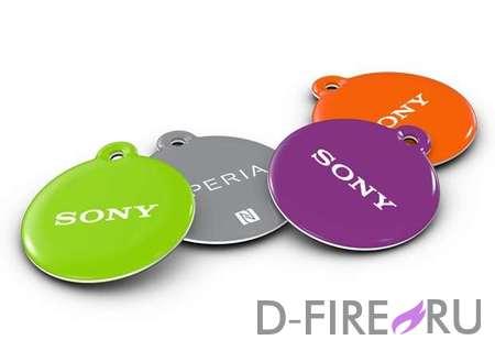 Метки Sony ближнего действия (NFC) NT1 SmartTags